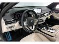 BMW 7 Series 740i Sedan Black Sapphire Metallic photo #5
