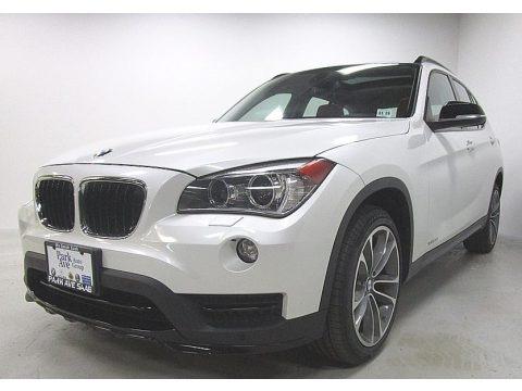 Mineral White Metallic 2015 BMW X1 xDrive28i