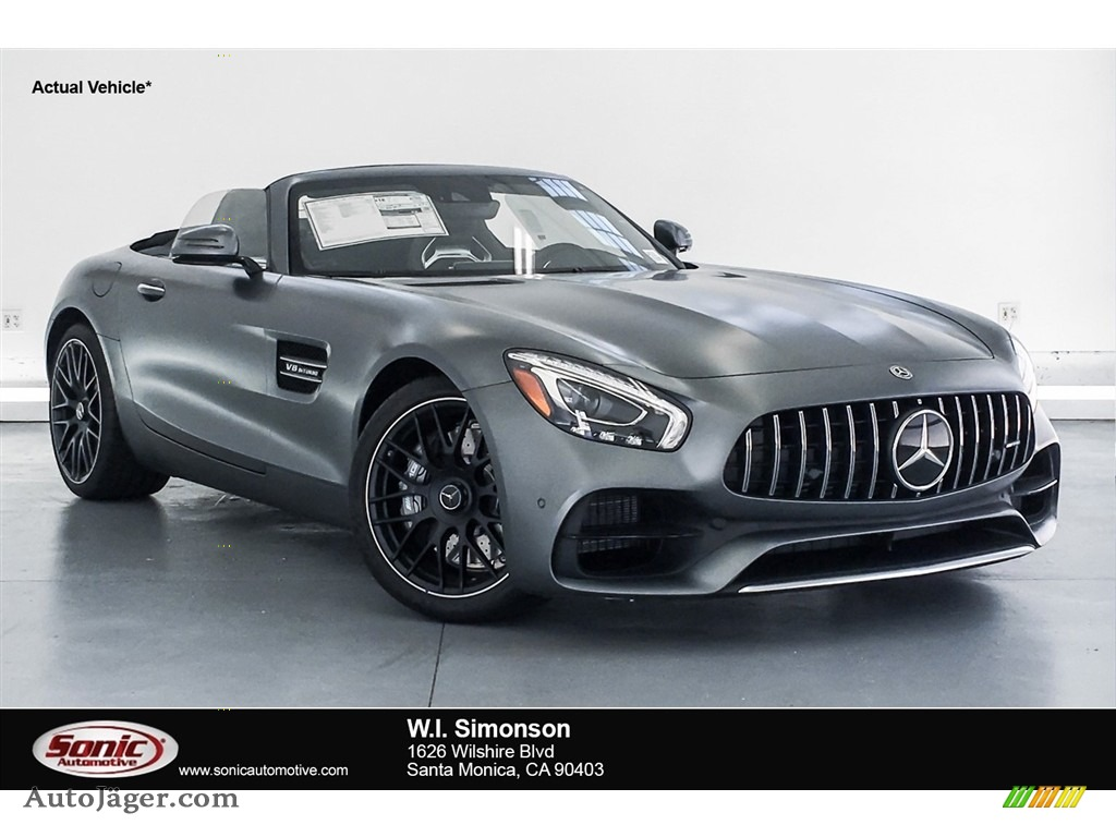 designo Selenite Grey Magno (Matte) / Auburn Brown Mercedes-Benz AMG GT Roadster