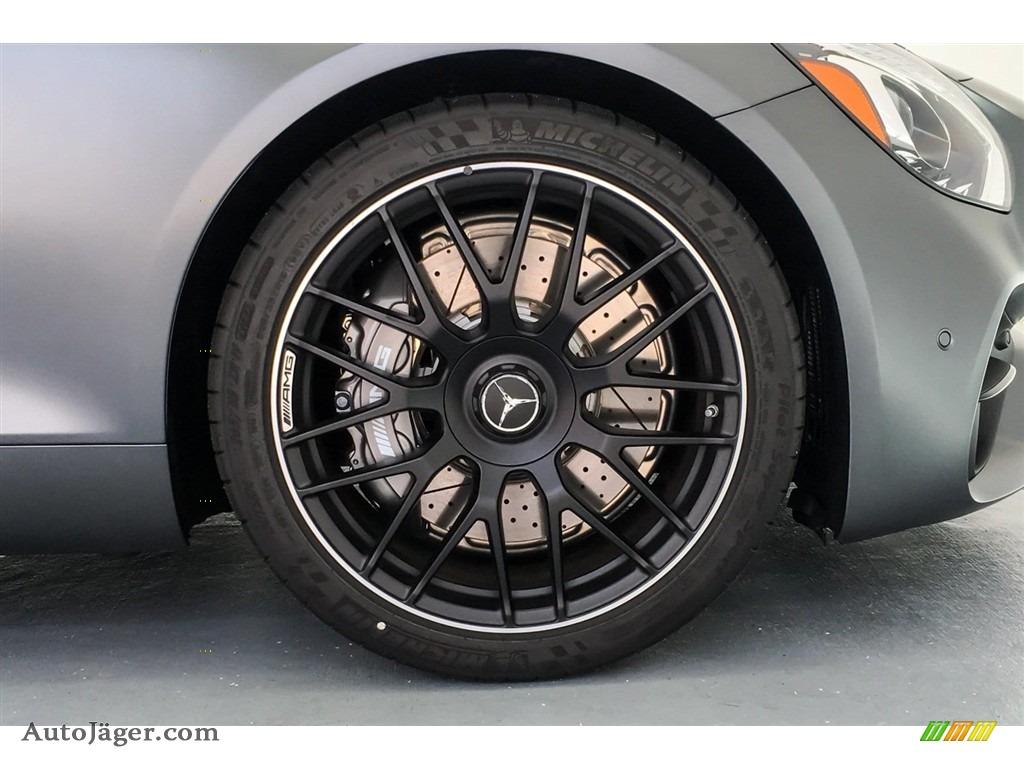 2018 AMG GT Roadster - designo Selenite Grey Magno (Matte) / Auburn Brown photo #8