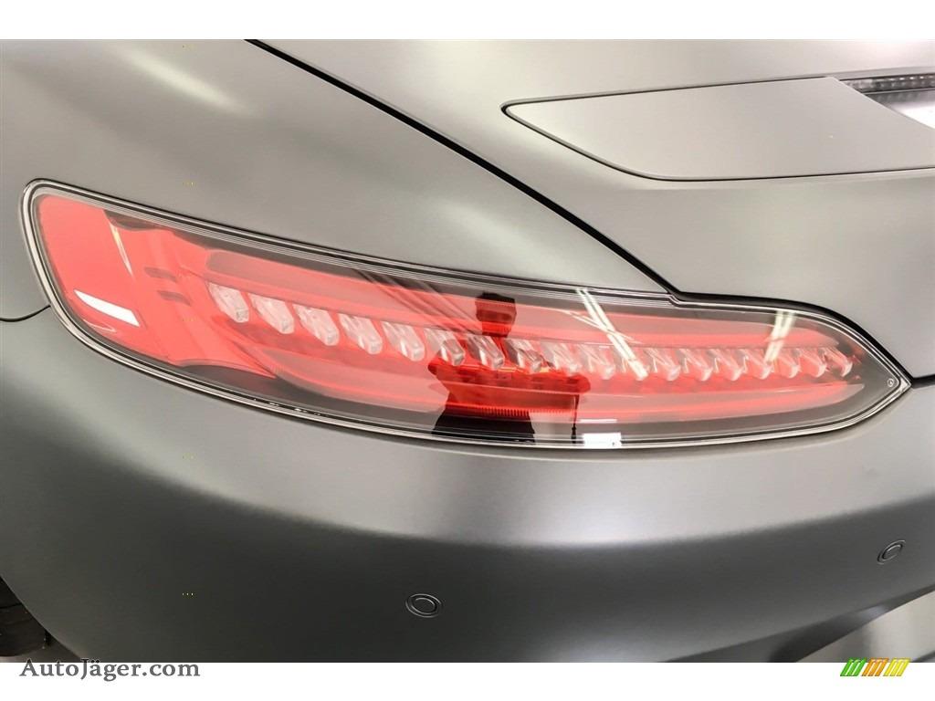 2018 AMG GT Roadster - designo Selenite Grey Magno (Matte) / Auburn Brown photo #25