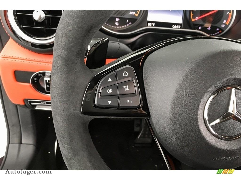 2018 AMG GT C Roadster - designo Iridium Silver Magno (Matte) / Red Pepper/Black photo #17