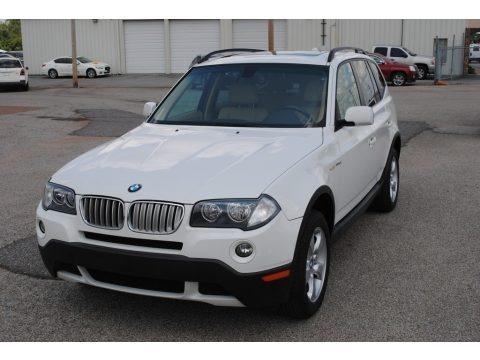 Alpine White 2008 BMW X3 3.0si