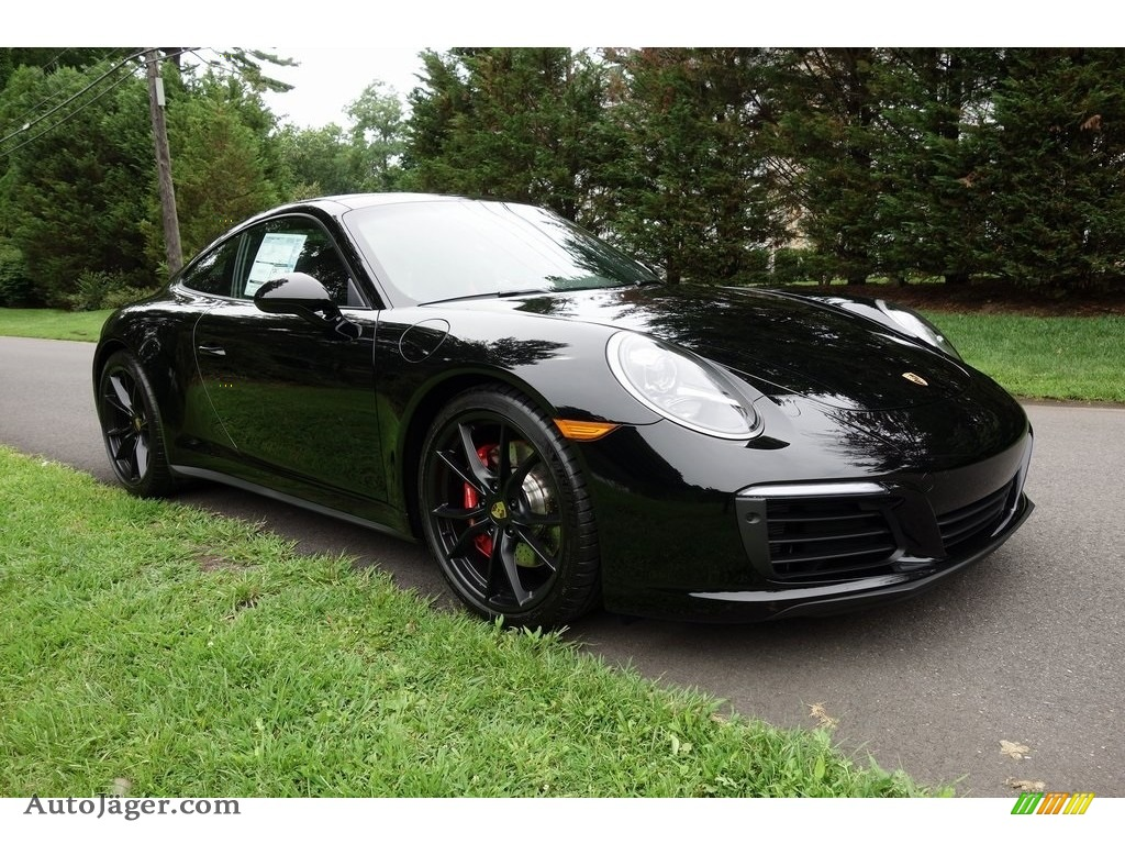 Black / Black Porsche 911 Carrera 4S Coupe