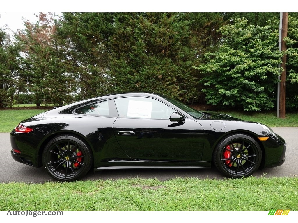 2018 911 Carrera 4S Coupe - Black / Black photo #3