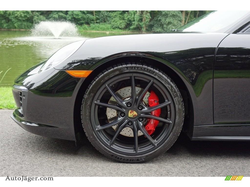2018 911 Carrera 4S Coupe - Black / Black photo #9