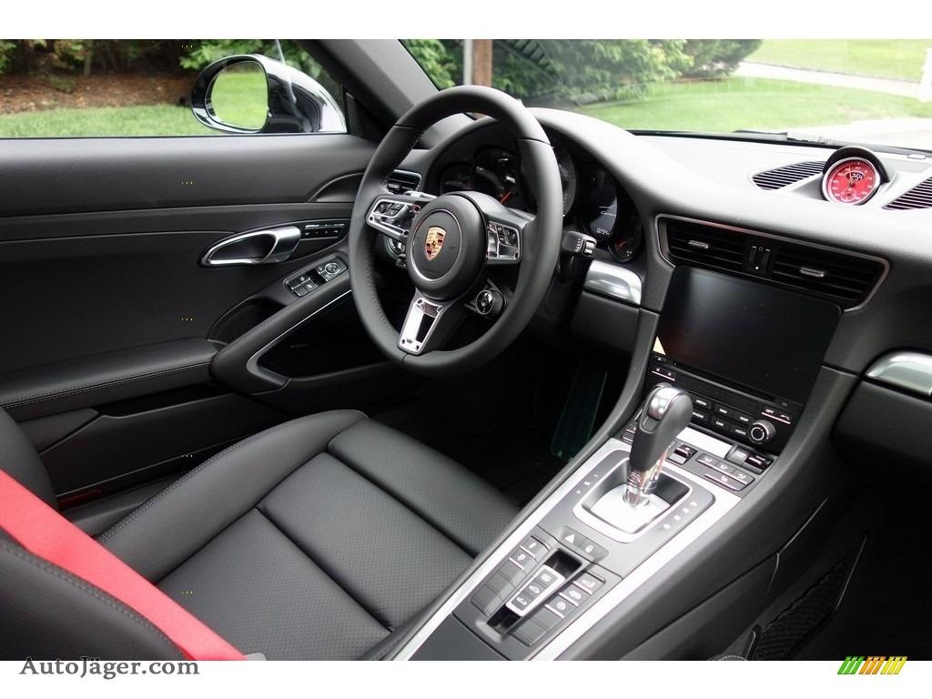 2018 911 Carrera 4S Coupe - Black / Black photo #14