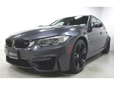 Mineral Grey Metallic 2015 BMW M3 Sedan