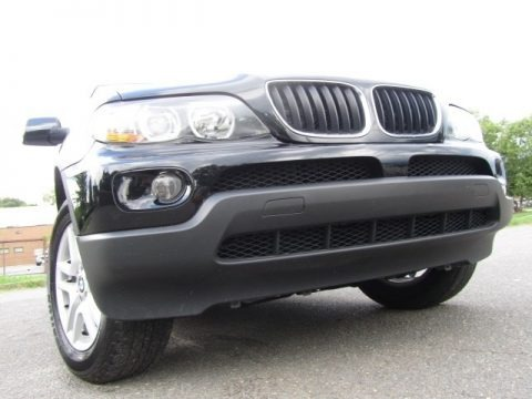 Black Sapphire Metallic 2005 BMW X5 3.0i