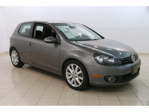 United Gray Metallic 2011 Volkswagen Golf 2 Door TDI