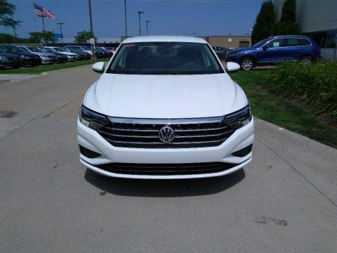 Pure White 2019 Volkswagen Jetta S