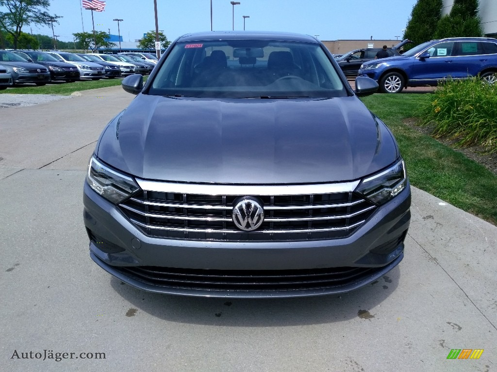 2019 Jetta S - Platinum Gray Metallic / Titan Black photo #1