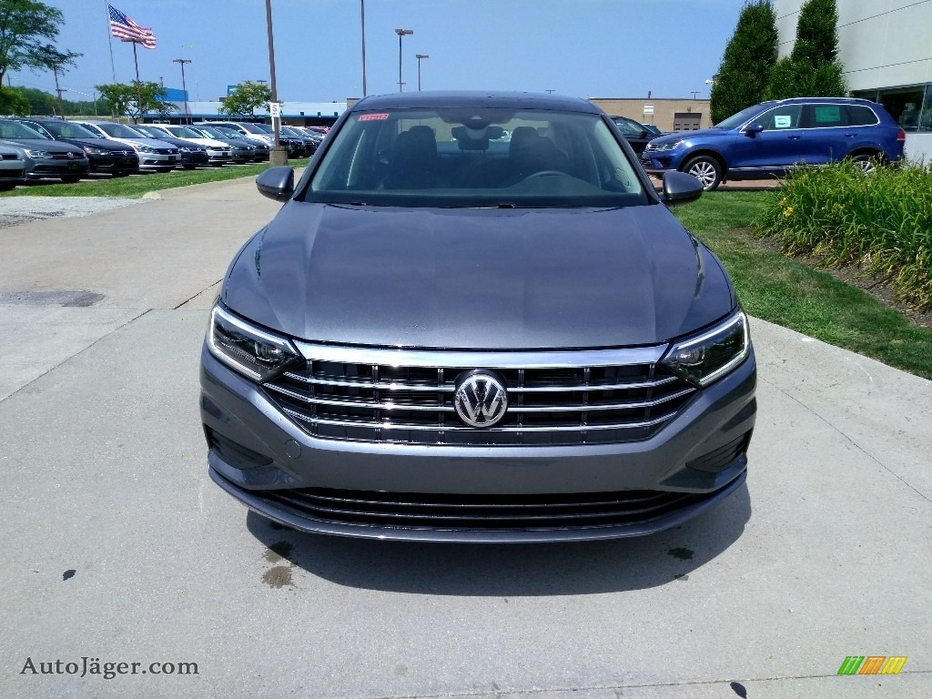 2019 Jetta SEL - Platinum Gray Metallic / Titan Black photo #1