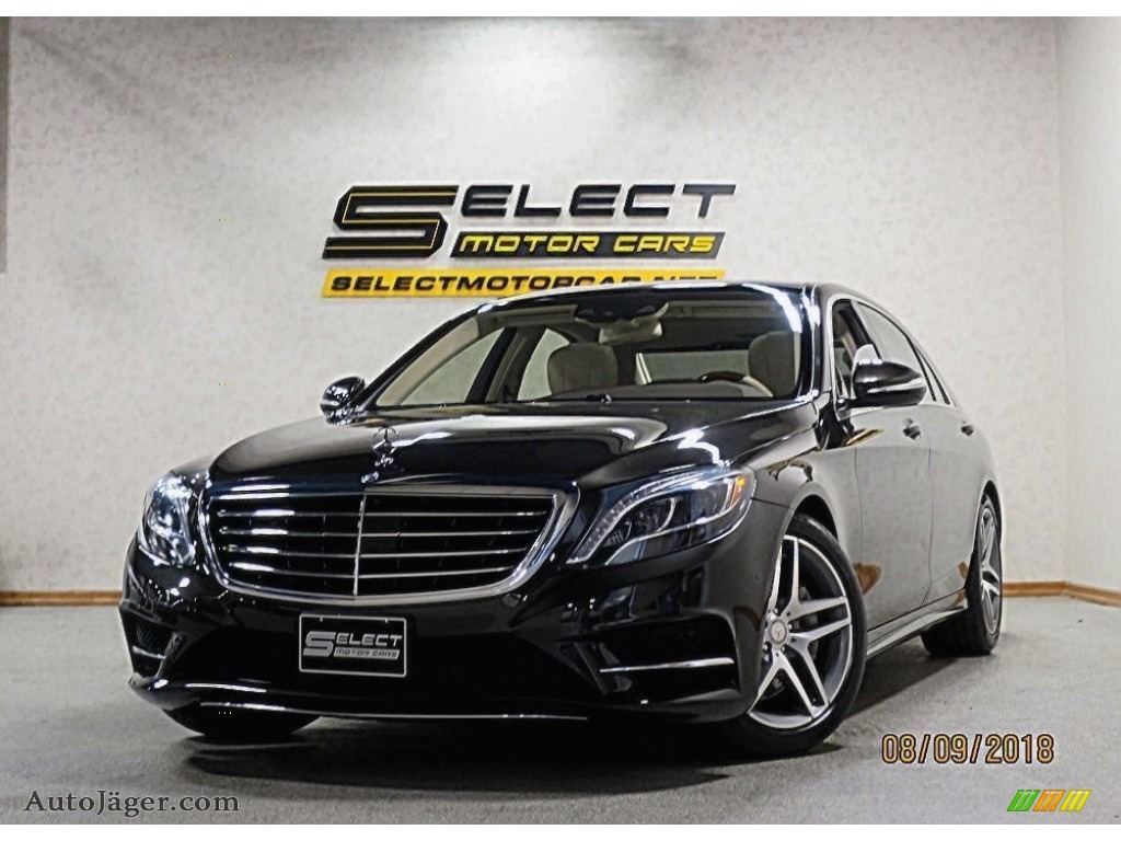 2014 S 550 4MATIC Sedan - Verde Brook Metallic / Silk Beige/Espresso Brown photo #1