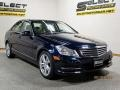 Mercedes-Benz C 300 4Matic Luxury Lunar Blue Metallic photo #3