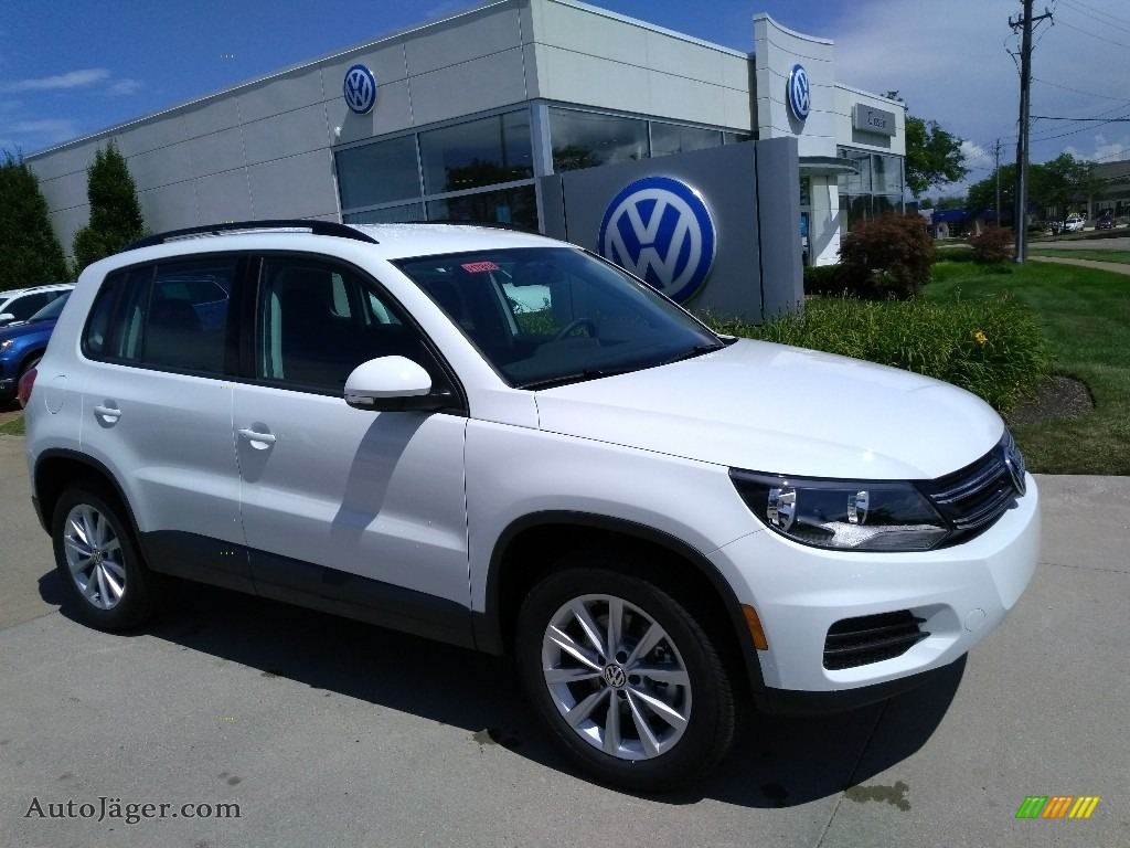 2018 Tiguan Limited 2.0T 4Motion - Pure White / Charcoal Black photo #2