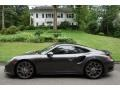 Porsche 911 Turbo Coupe Agate Grey Metallic photo #3