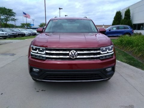 Fortana Red Metallic 2018 Volkswagen Atlas SE 4Motion