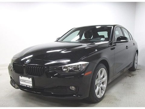 Jet Black 2015 BMW 3 Series 320i xDrive Sedan