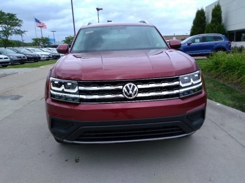 Fortana Red Metallic 2018 Volkswagen Atlas S 4Motion