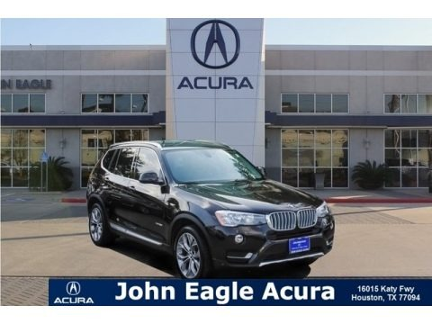 Sparkling Brown Metallic 2016 BMW X3 xDrive28i
