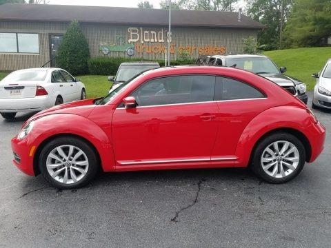Tornado Red 2013 Volkswagen Beetle TDI