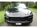 Porsche Cayenne Platinum Edition Jet Black Metallic photo #2