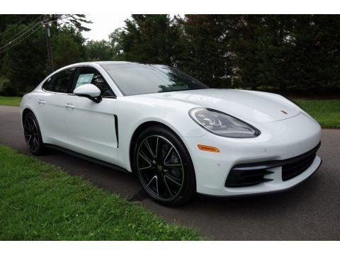 White 2018 Porsche Panamera 4S