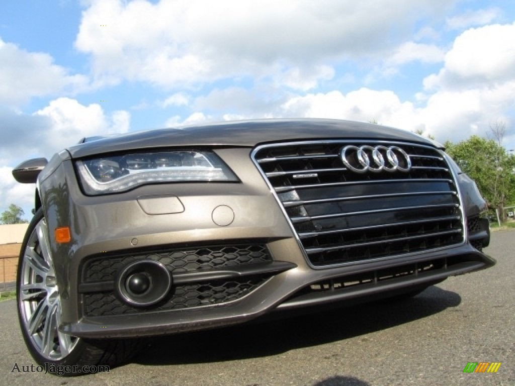 2012 A7 3.0T quattro Prestige - Dakota Grey Metallic / Nougat Brown photo #1