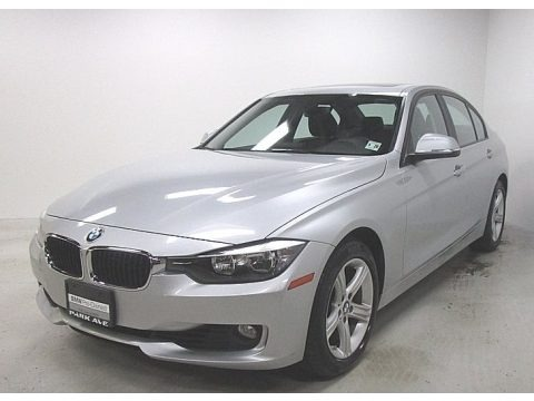 Glacier Silver Metallic 2015 BMW 3 Series 328i xDrive Sedan