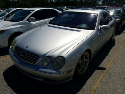 Brilliant Silver Metallic 2001 Mercedes-Benz CL 600