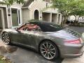 Porsche 911 Carrera S Cabriolet Agate Grey Metallic photo #8
