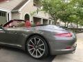 Porsche 911 Carrera S Cabriolet Agate Grey Metallic photo #9
