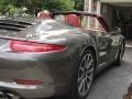 Porsche 911 Carrera S Cabriolet Agate Grey Metallic photo #10
