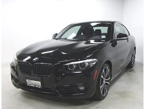 Jet Black 2018 BMW 2 Series 230i xDrive Coupe