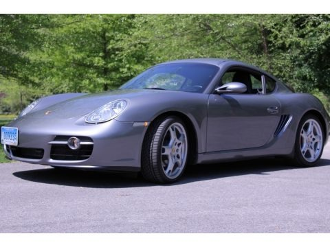 Atlas Grey Metallic 2006 Porsche Cayman S