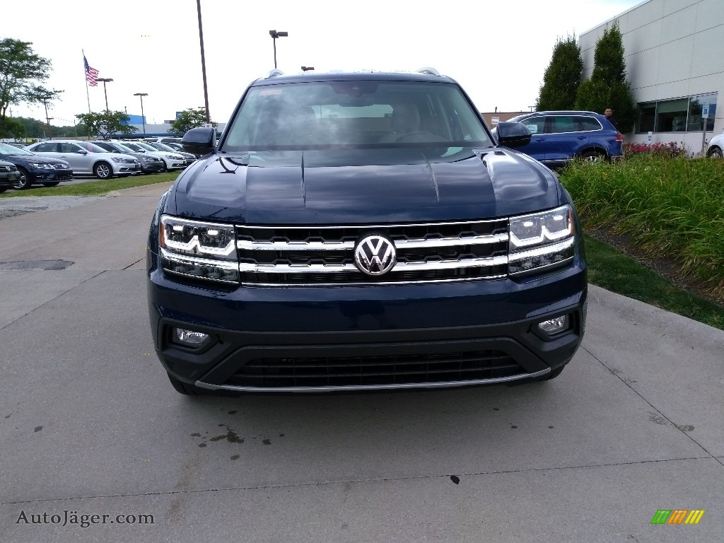 Tourmaline Blue Metallic / Shetland Volkswagen Atlas SE 4Motion