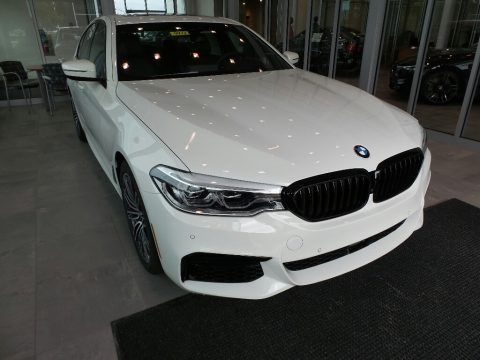 Alpine White 2019 BMW 5 Series 540i xDrive Sedan