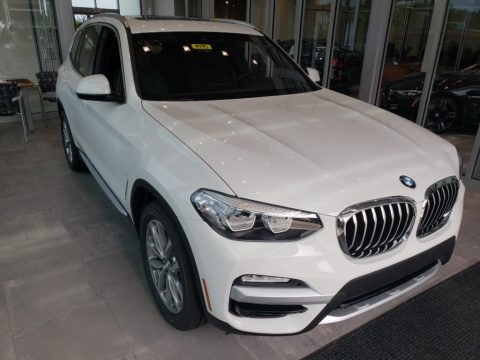 Alpine White 2019 BMW X3 xDrive30i