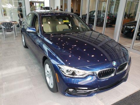 Mediterranean Blue Metallic 2018 BMW 3 Series 330i xDrive Sedan