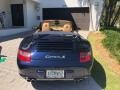 Porsche 911 Carrera S Cabriolet Midnight Blue Metallic photo #6