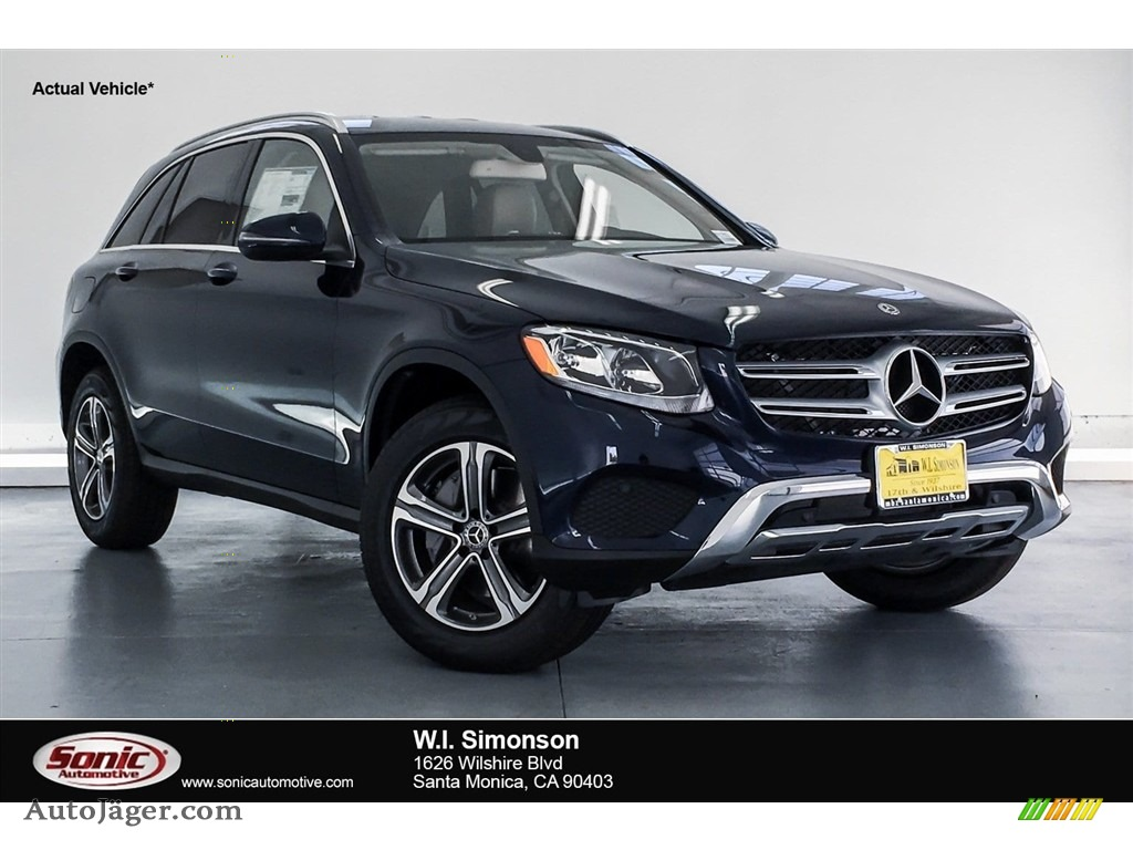 Lunar Blue Metallic / Silk Beige/Black Mercedes-Benz GLC 300 4Matic