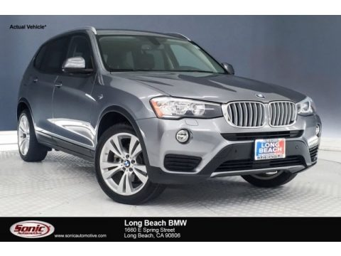 Space Grey Metallic 2016 BMW X3 xDrive28i