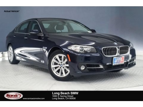 Imperial Blue Metallic 2015 BMW 5 Series 528i Sedan
