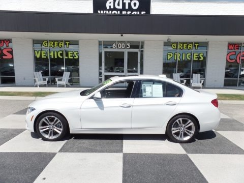 Alpine White 2017 BMW 3 Series 330i Sedan