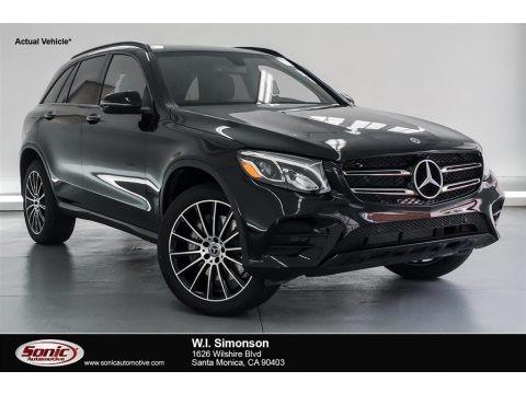 Black 2019 Mercedes-Benz GLC 300