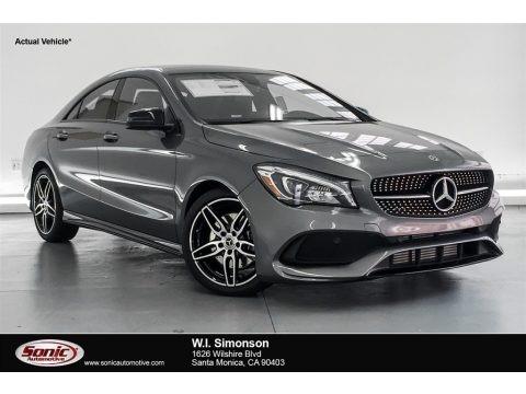 Mountain Grey Metallic 2019 Mercedes-Benz CLA 250 Coupe
