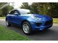 Porsche Macan  Sapphire Blue Metallic photo #1