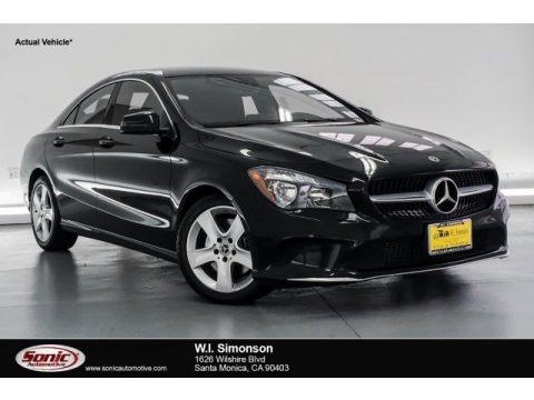 Night Black 2018 Mercedes-Benz CLA 250 Coupe