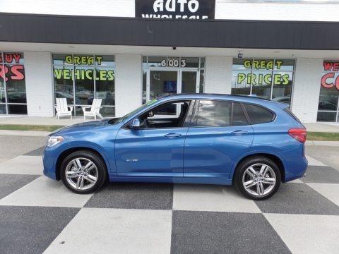 Estoril Blue Metallic 2017 BMW X1 xDrive28i